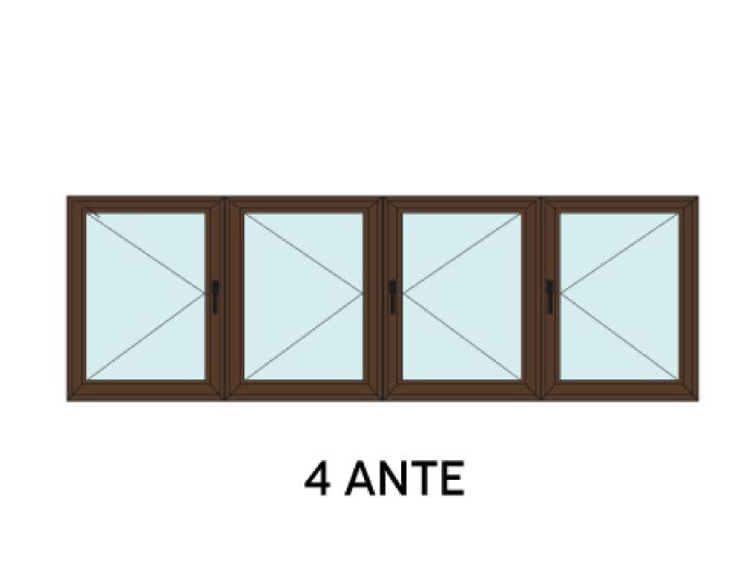Finestra 4 ante